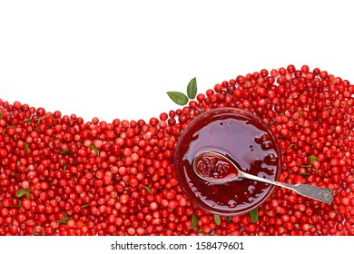 Cowberry jam.