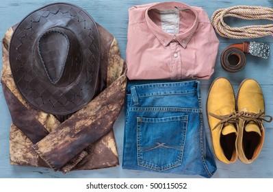 cowboy clothes, Wild West