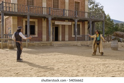 Cowboy Gunfight