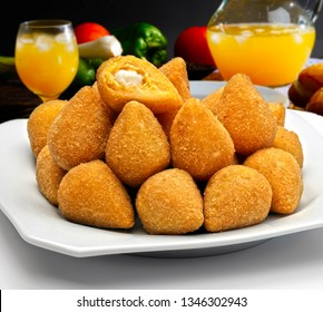 Coxinha of chicken, Brazilian snack