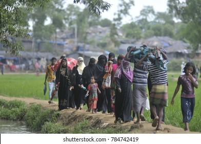 Coxs Bazar , Bangladesh : Rohingya Refugee at Bangladesh