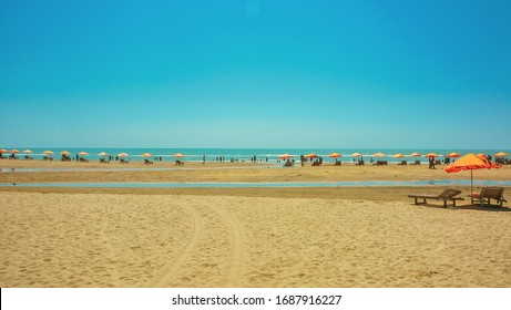 Cox's Bazar beach is the longest beach in the world. It's a very popular travel destination in Bangladesh.