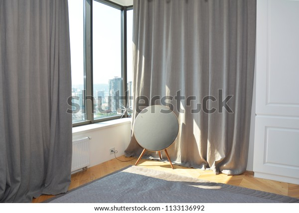 Coze Bedroom Curtains Contemporary Modern Scandinavian Stock ...
