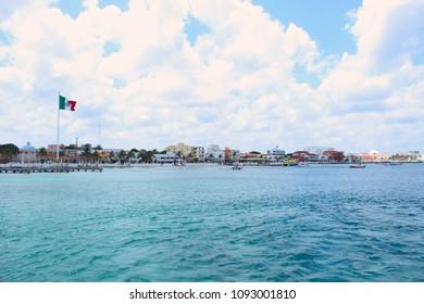 Cozumel Island, in Mexico