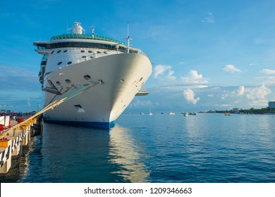 Cozumel Mexico Cruise Ship Port Colorful Bright