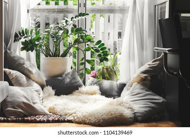 Cozy place at home for rest