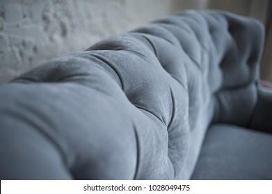 cozy sofa in the room