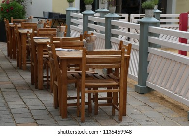 Cozy street restaurant