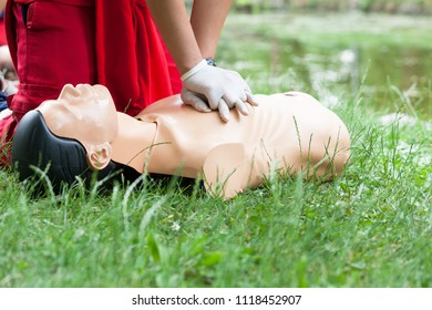CPR and first aid medical procedure training