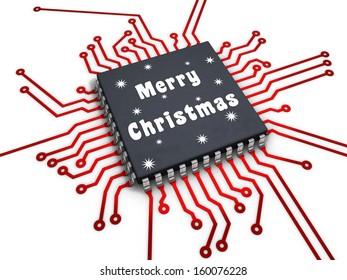 CPU merry christmas