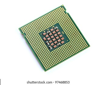 CPU over white background