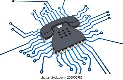 CPU telephone
