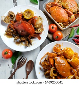 Crab oyster sauce is a seafood dish from China consisting of crab served with oyster sauce splash