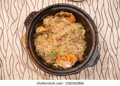 Crab stir fry, Cantonese cuisine