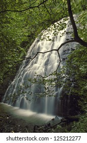 Crabtree Falls, near Mt. Mitchell, NC