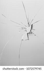 crack glass texture