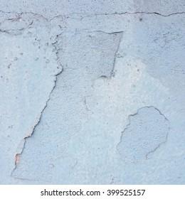 crack and grunge blue concrete texture