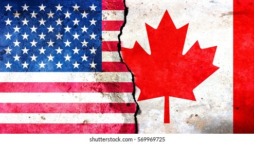A crack in the monolith. Canada-United States relations