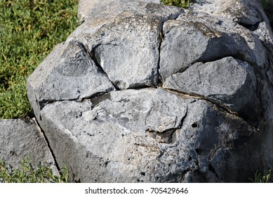 Cracked Boulder Images, Stock Photos & Vectors | Shutterstock