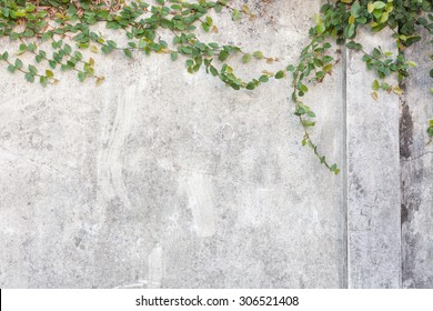 Cracked concrete wall background, old wall