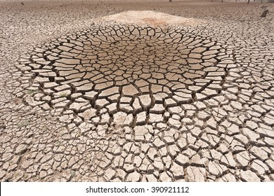 Cracked dry land without water.Abstract background.
