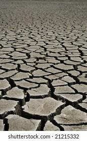 Cracked earth, soil texture