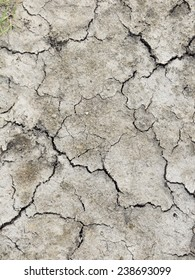 Cracked earth texture art background