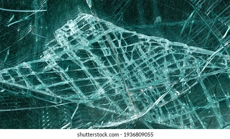 cracked glass texture, broken stripes background