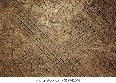 cracked ground, dry soil