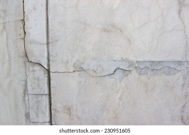 Cracked old concrete wall texture