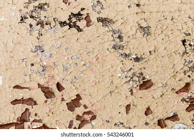 cracked paint is often used as a background/cracked  paint closeup as background