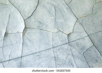 Cracked plaster - grunge texture - design flaw