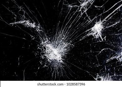 cracked screen texture, black broken phone, background image