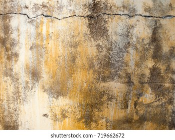 cracked wall texture closeup