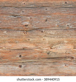 Cracked, weather-beaten wooden wall; Seamless grunge wood structure for background; Surface of raw wood boards