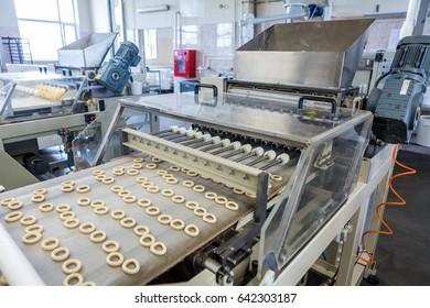 cracknels production equipment
