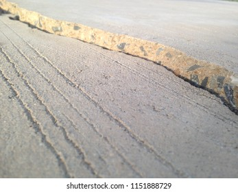 Cracks, crevices, concrete slabs this is caused by the non-standard construction.