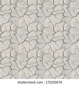 The cracks ground texture. Seamless pattern.