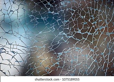 cracks on glass texture broken glass transparent