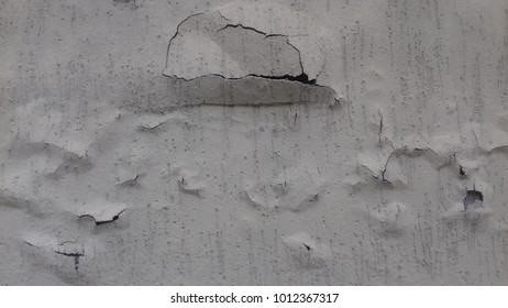 cracks wall house background texture.