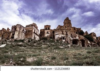 Craco Basilicata ghost city