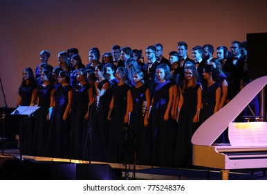 Cracow, Poland - December 8, 2017: 