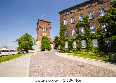 Cracow,Poland - June 12.2019: Wawel Royal Castle. Thieves' Tower