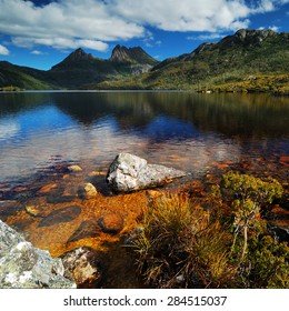 Cradle Mountain National Park with Dove lake