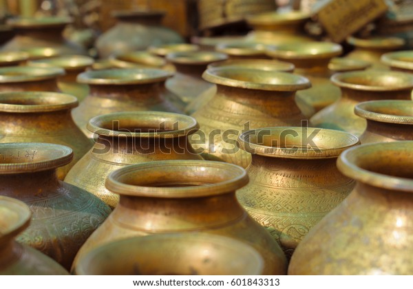 Craft Art India Brass Lota Drinkware Stock Photo (Edit Now) 601843313