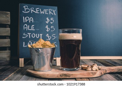 Craft Beer in American Brewery