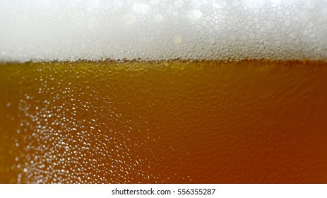 Craft Beer bubbles background texture