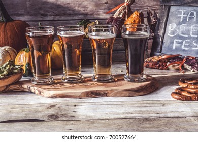 Craft Beer Flight (Halloween Season)