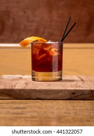 Craft Cocktail Hour at the Hipster Bar: Old Fashioned