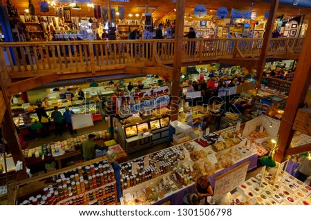 Craft Shops Stores Indoor St Jacobs Stock Photo Edit Now